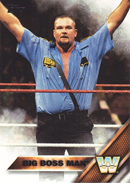 2016 Topps Wwe Then Now Forever Wrestling 153 Big Boss Man At