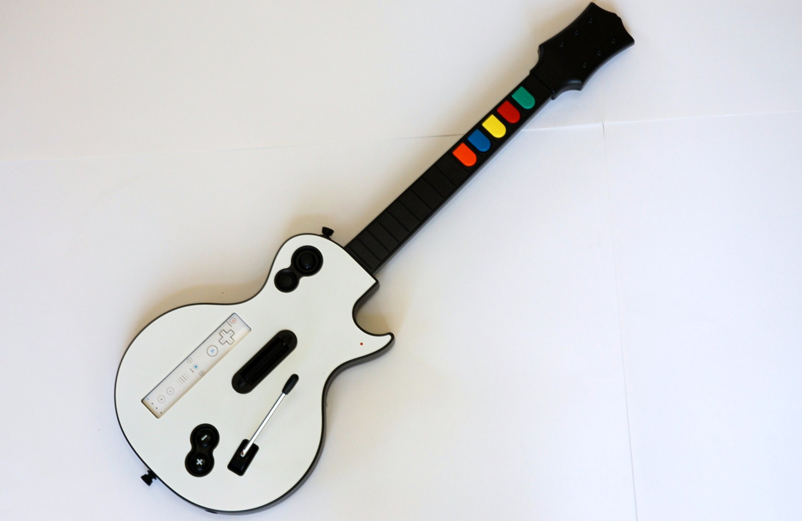 Wireless Guitar For Wii Guitar Hero And Rock Band Games ...