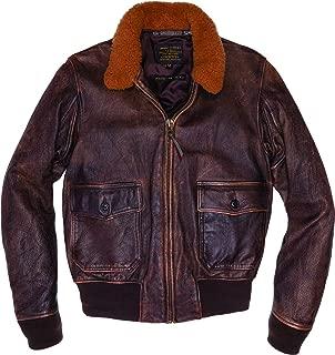 product image for Avenger G-1 Bomber Goatskin Leather Jacket with Nylon Lining