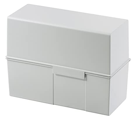 Amazon.com: HAN 975-11, tarjeta índice caja A5 horizontal ...