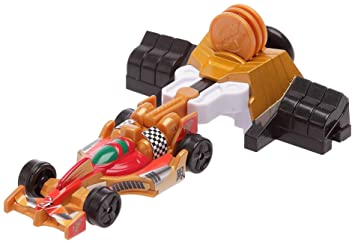 Bandai 31085 Power Rangers Turbo Octane Racer - Coche de carreras, color dorado: Amazon.es: Juguetes y juegos