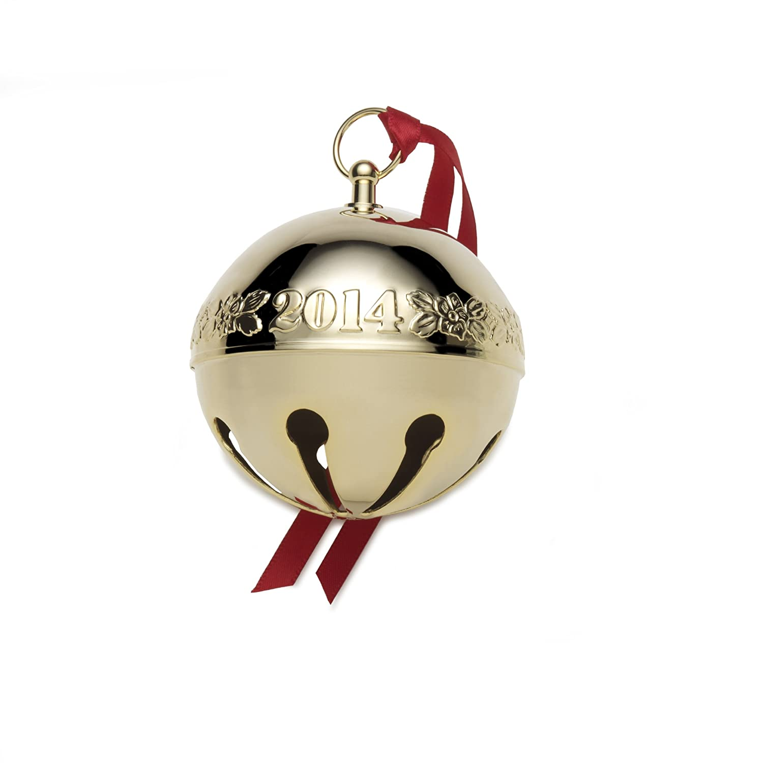 Amazon: Wallace Goldplated Sleigh Bell Ornament, 25th Edition: Home &  Kitchen