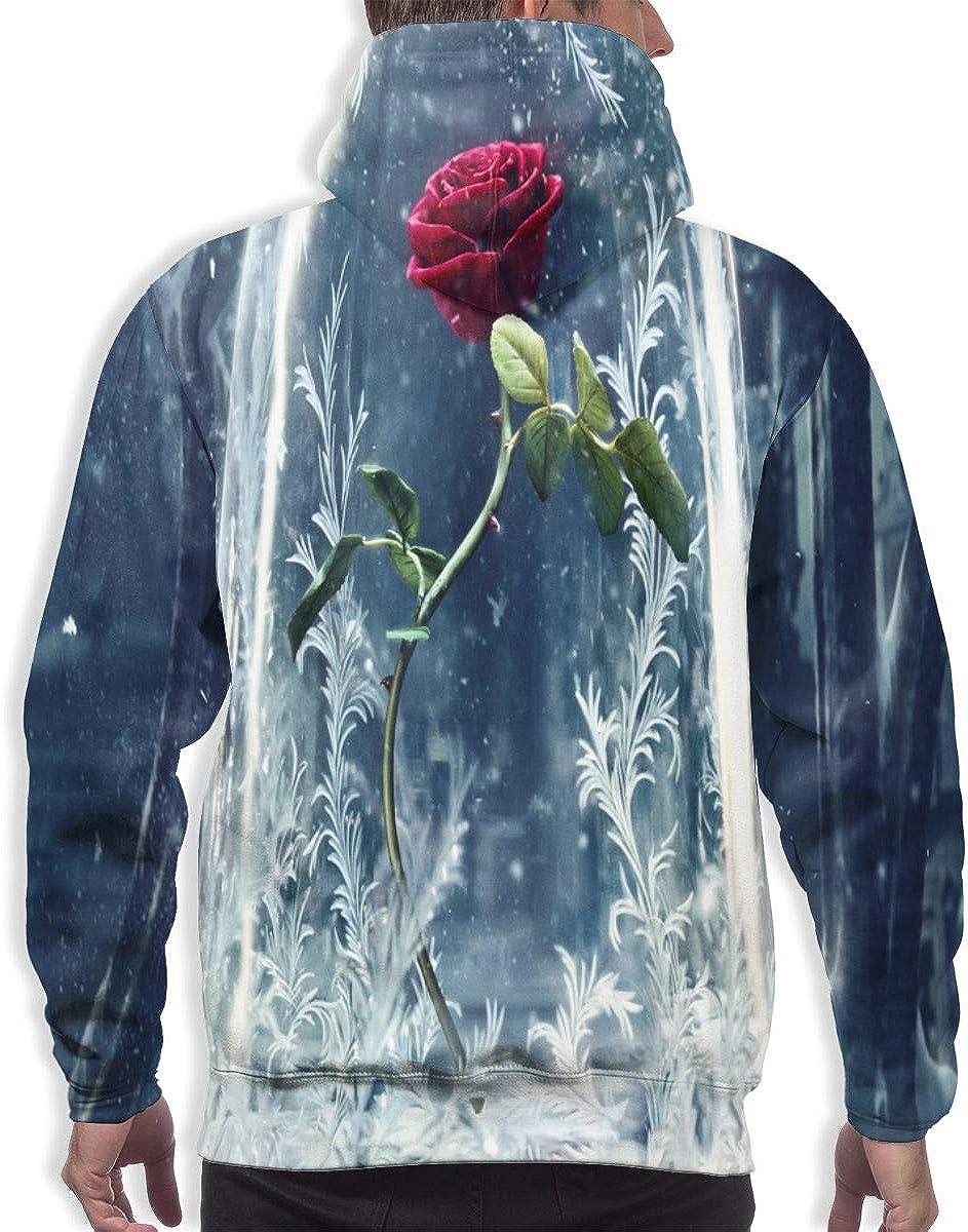 Mens Drawstring Hoodies Sweatshirts Pullover Fit Sport Tops