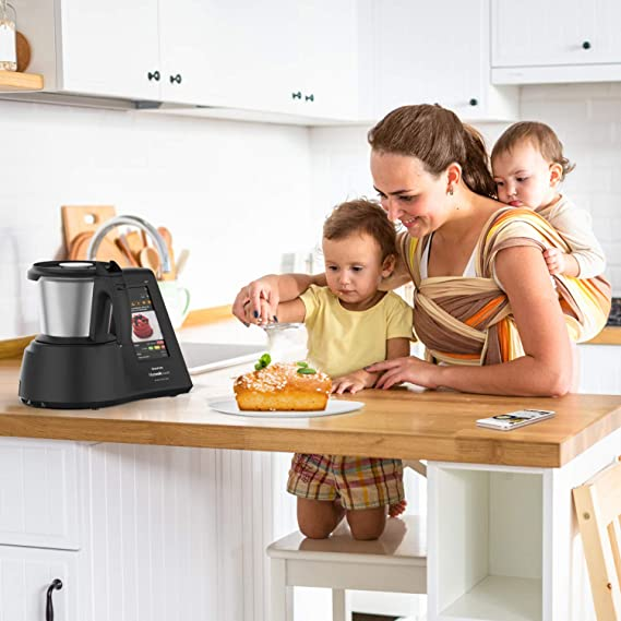 Taurus Mycook Touch Black Edition - Robot de Cocina, wifi, 1600W ...
