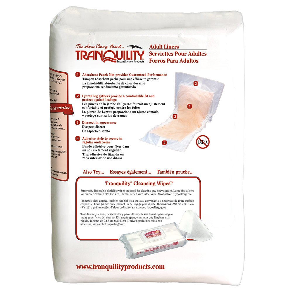 Tranquility Adult Incontinence Liners - 120 ct by Tranquility (Image #3)