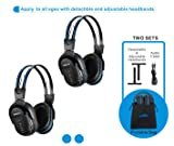2 Pack of Wireless Car Headphones, Wireless