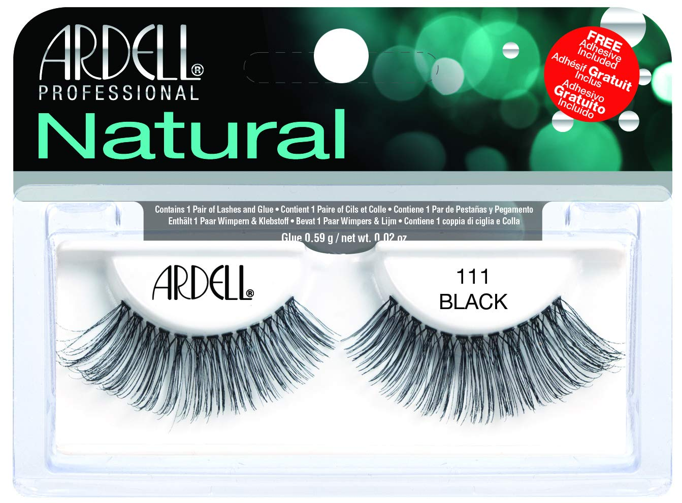 d9d07b4ec2b Amazon.com : Ardell Fashion Lashes Pair - 111 : Beauty