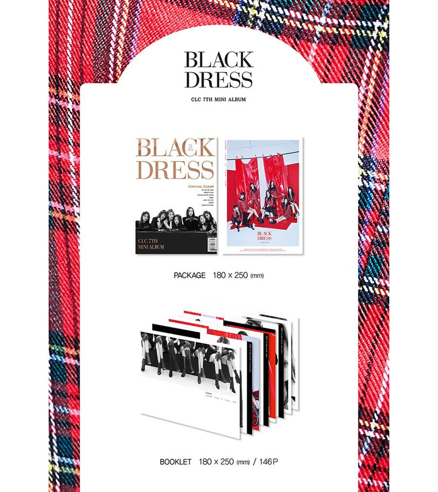 CLC [BLACK DRESS] 7th Mini Album CD+Photobook+Postcard+Card K-POP SEALED by CLC [BLACK DRESS] 7th Mini Album