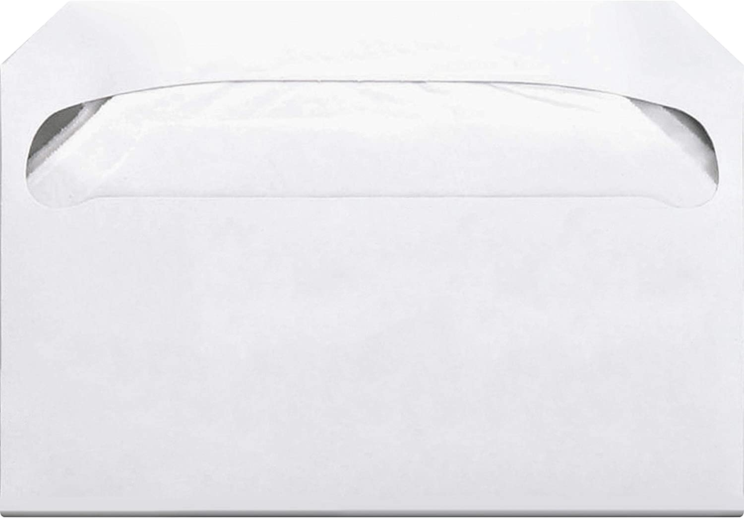 ABC Pack of 250 Half Fold Toilet Seat Covers One-ply Quick-dissolving Tissue Sheets. 1//2 Fold Disposable Potty Seat Cover Sheets Biodegradable Travel White Paper Seat Covers for Public Washrooms