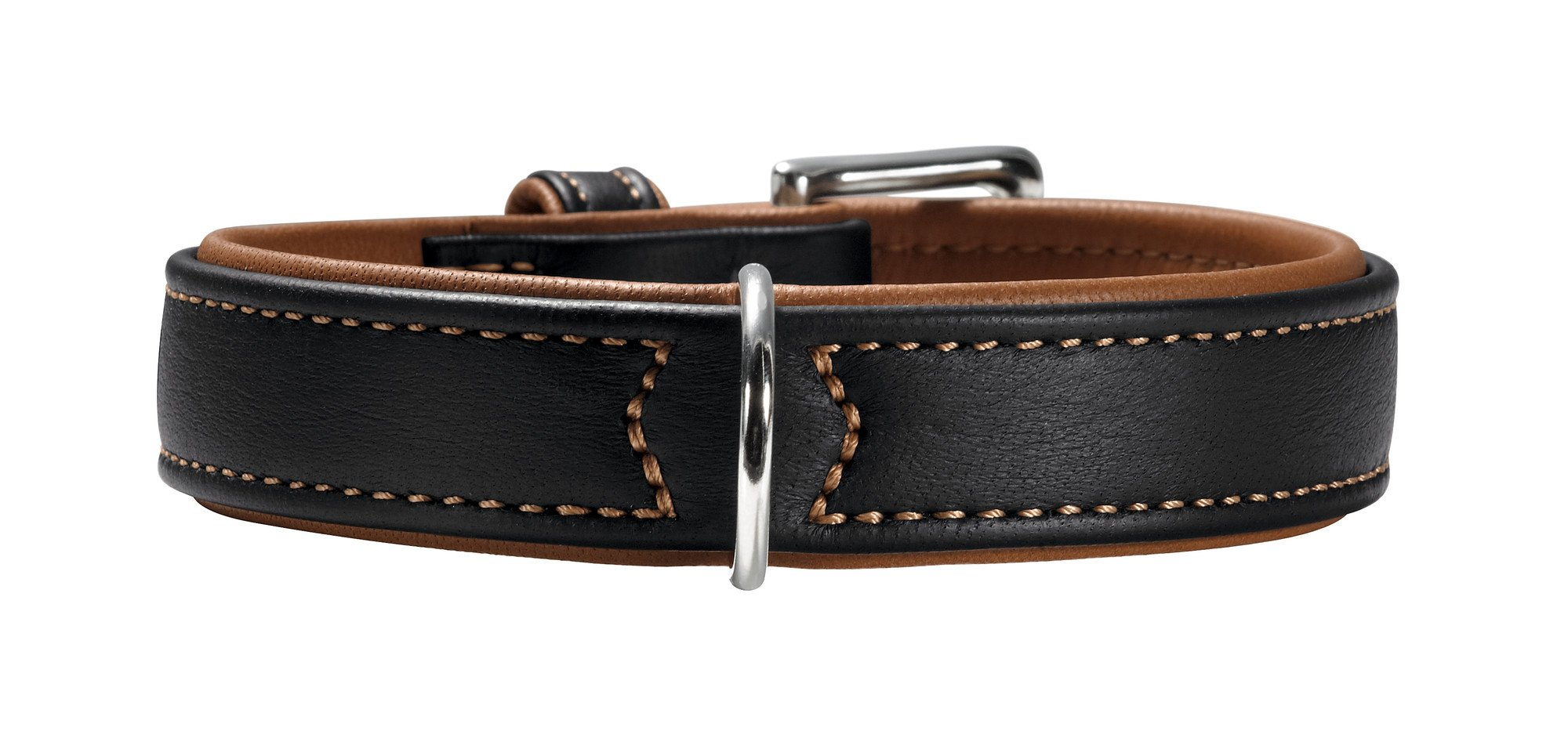 Hunter HT43689 Canadian Elk Leather Collar, One Size