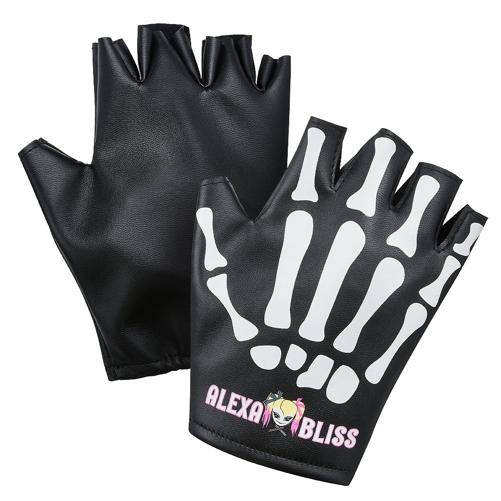 Alexa Bliss Little Miss Bliss WWE Gloves by Official WWE Authentic
