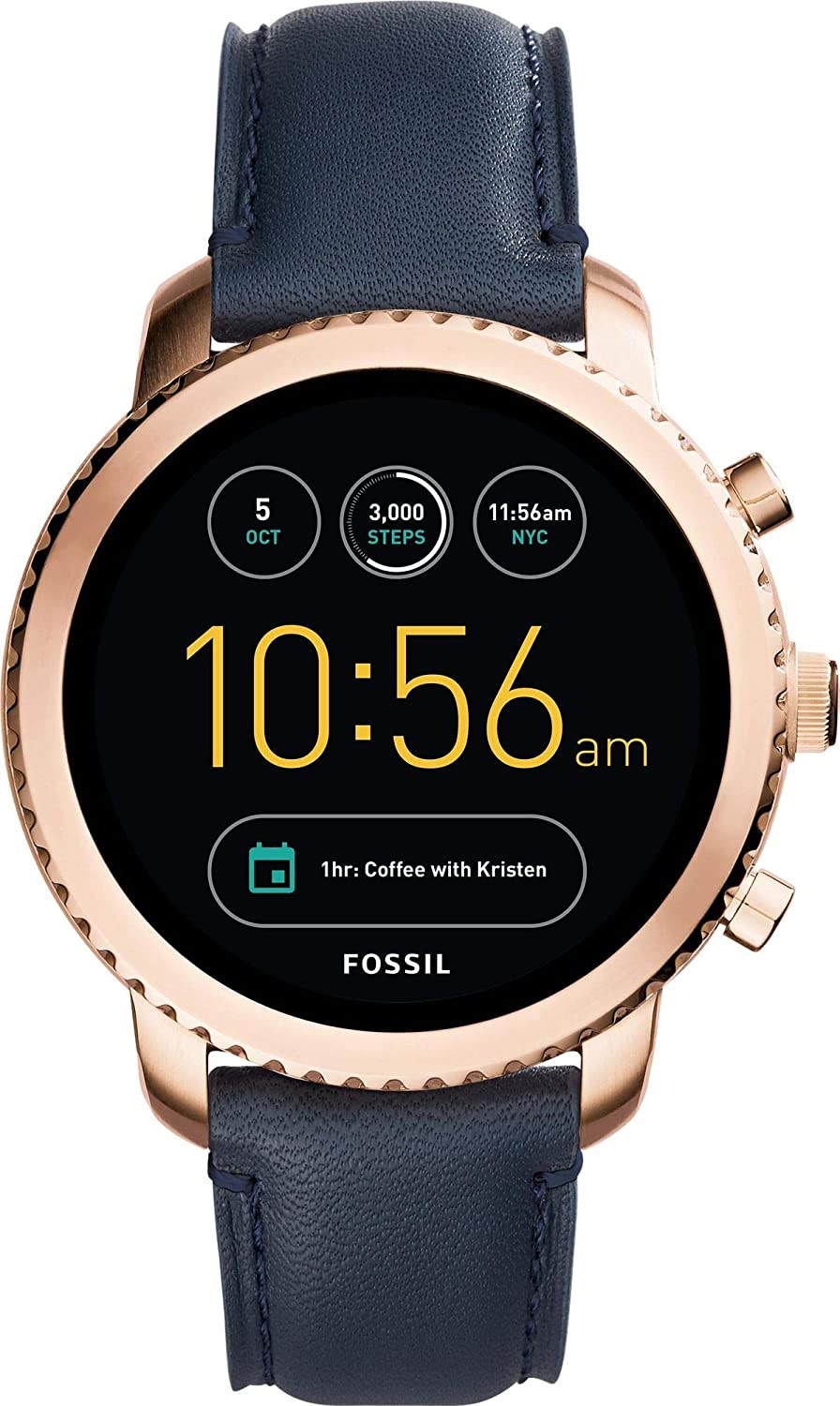 Fossil Q SMARTWATCH AMOLED Watch Q EXPLORIST FTW4002