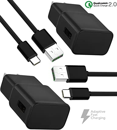 Adaptive Fast Car Charger Compatible Other Samsung Galaxy S9 Car Charger + Type-C Cables 4351582712 Galaxy S8 Quick Car Charger 3.0 ixir. S9 Plus 4 feet Type-C Cable Set Samsung Note 9 2-Port