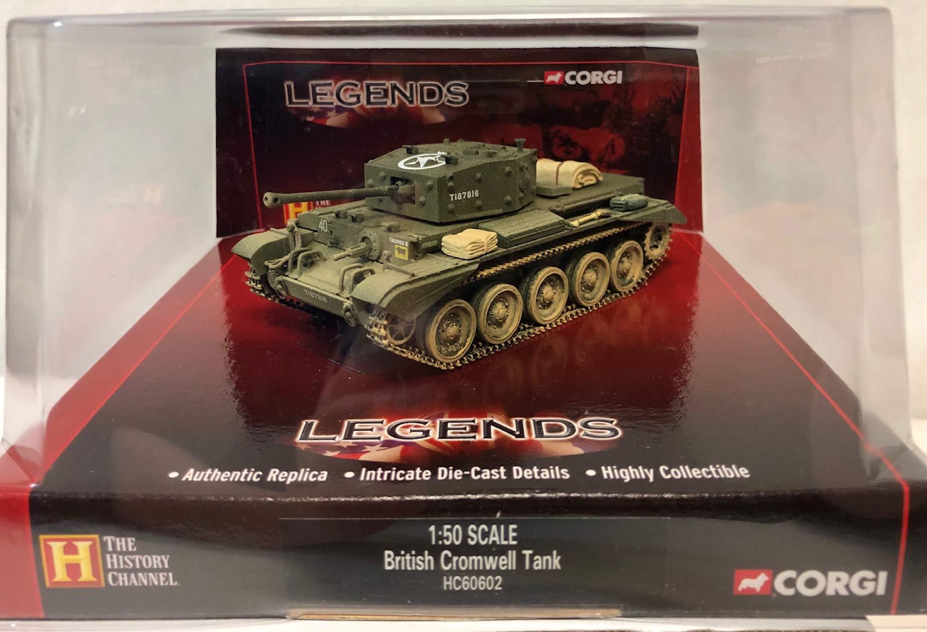 Corgi Legends British Cromwell Tank 1:50 Scale HC60602