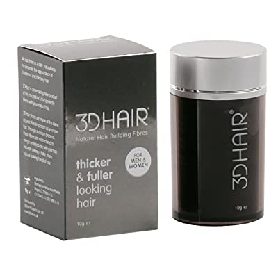 3DHair Natural Hair Building Fibres Black 10g