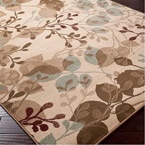 8x10 Area Rug Leaf Amazon Com