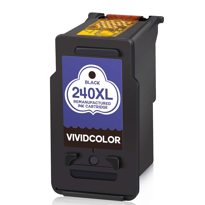 Vividcolor - Cartucho de Tinta remanufacturado para PG 240XL CL ...