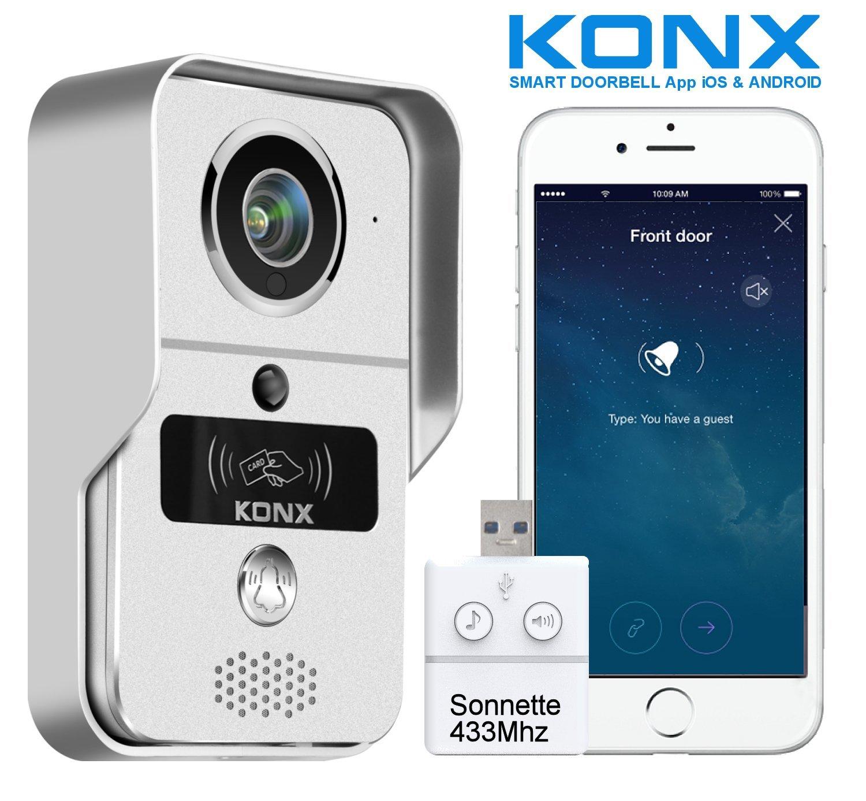 Portero automá tico con audio y ví deo, KW02C Konx