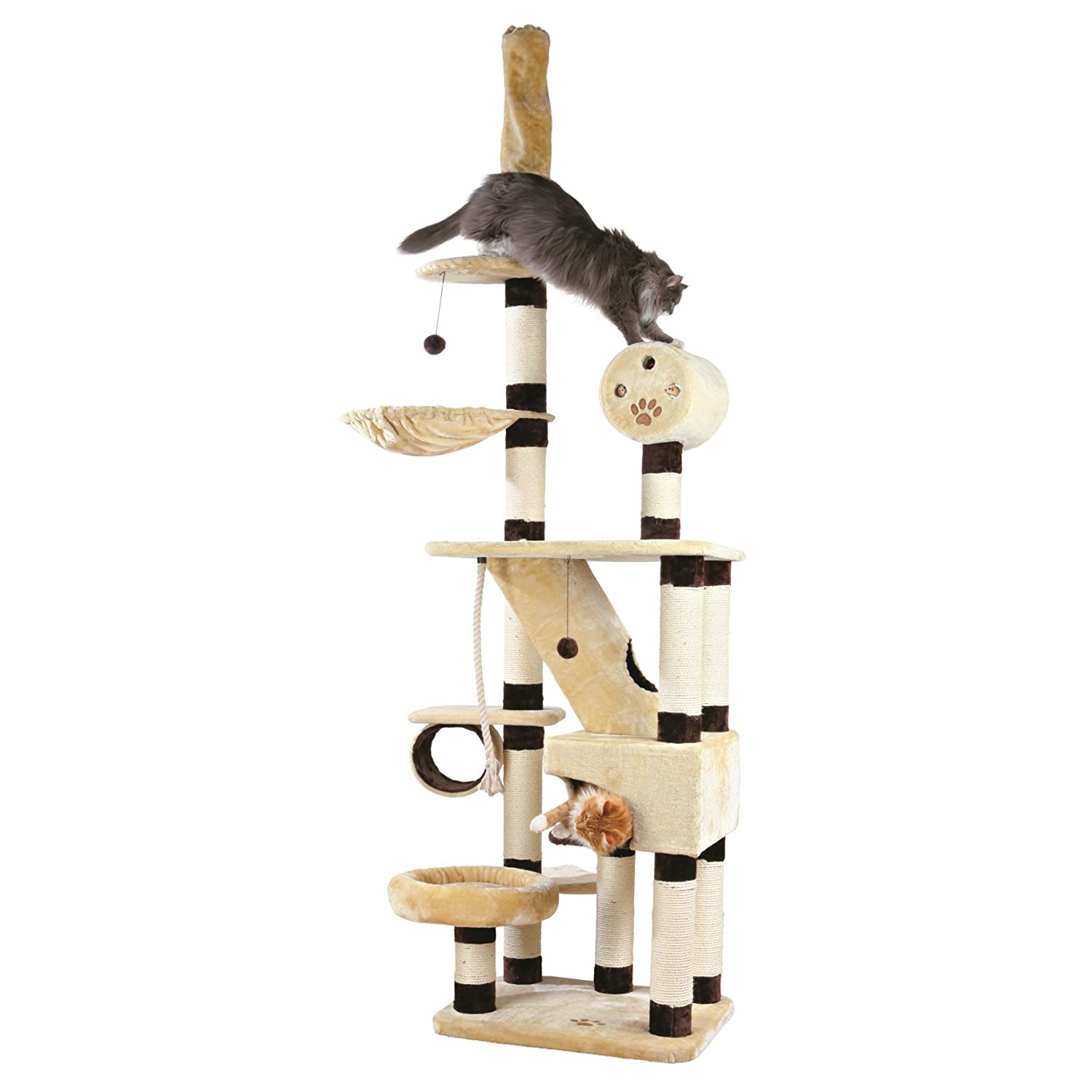 Amazon Trixie Pet Products Belorado Adjustable Cat Tree
