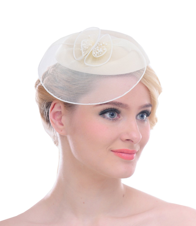 Wedding Hats For Short Hair: Fascinator Hat: Amazon.co.uk