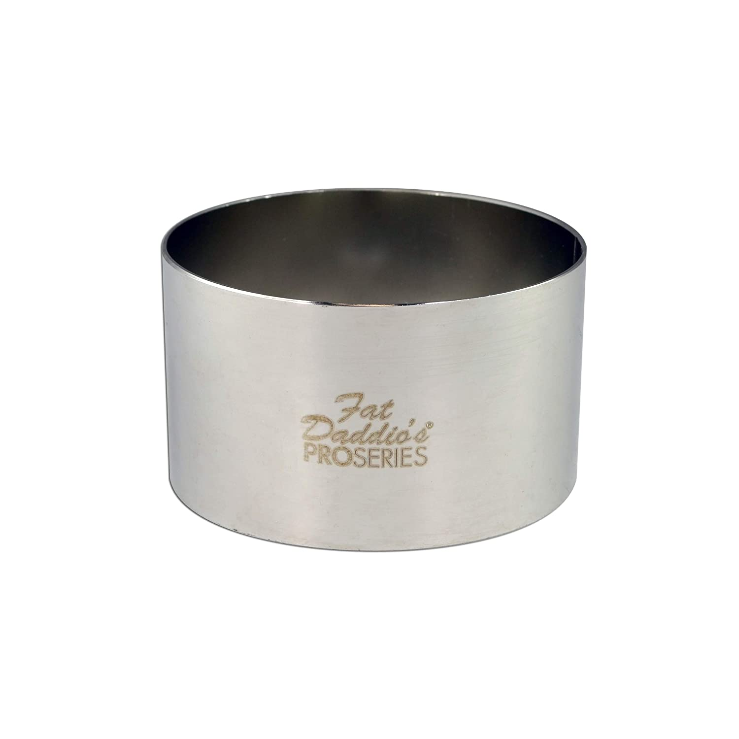Fat Daddio's Stainless Steel Round Cake and Pastry Ring, 8 Inch x 2 Inch Fat Daddio's RRD-3045