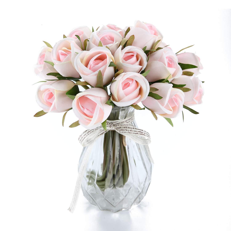 Home, Furniture & DIY Home Decor Faux Flowers Artificial Floral Rose Decor Wedding Party Arrangements Pink
