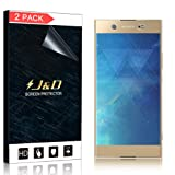J&D Compatible for 2-Pack Xperia XA1 Ultra Screen