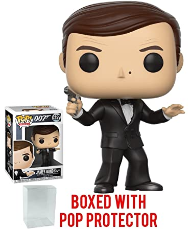 Funko 007 POP James Bond Roger Moore Vinyl Figure NEW Toys In Stock