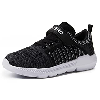 Vivay Kids Boys Tennis Shoes Breathable Athletic Running Sneakers for Girls