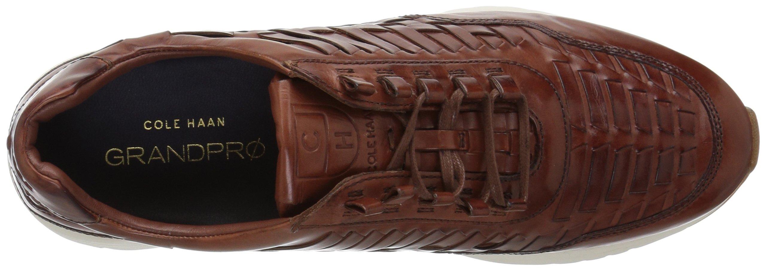 Cole Haan Men's Grandpro Runner Huarache Sneaker, Woodbury Woven Burnish, 12 Medium US by Cole Haan (Image #7)