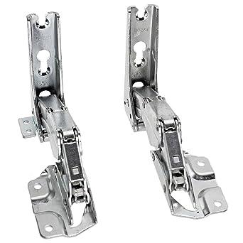 AEG Kühlschrank Gefrierschrank Integrierte Tür Scharnier (links Und Rechts  Scharniere Paar): Amazon.de: Elektro Großgeräte