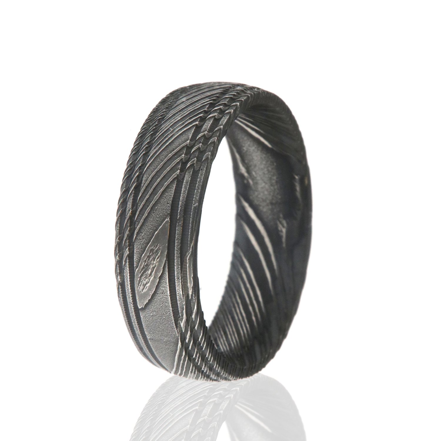 ring dp rings for steel damascus men