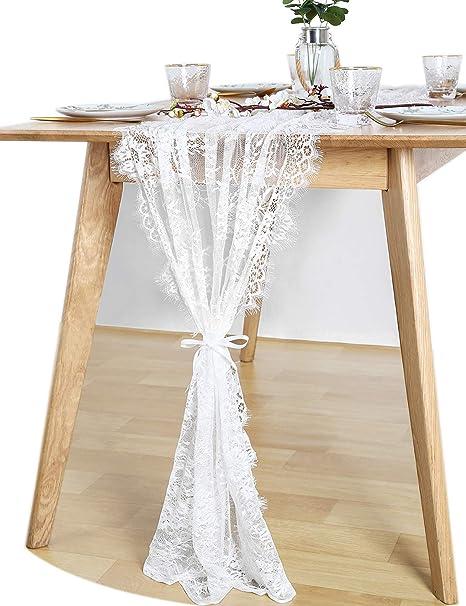 10x Vintage Hessian Table Runner Natural Burlap Jute Rustic Wedding Table Decor