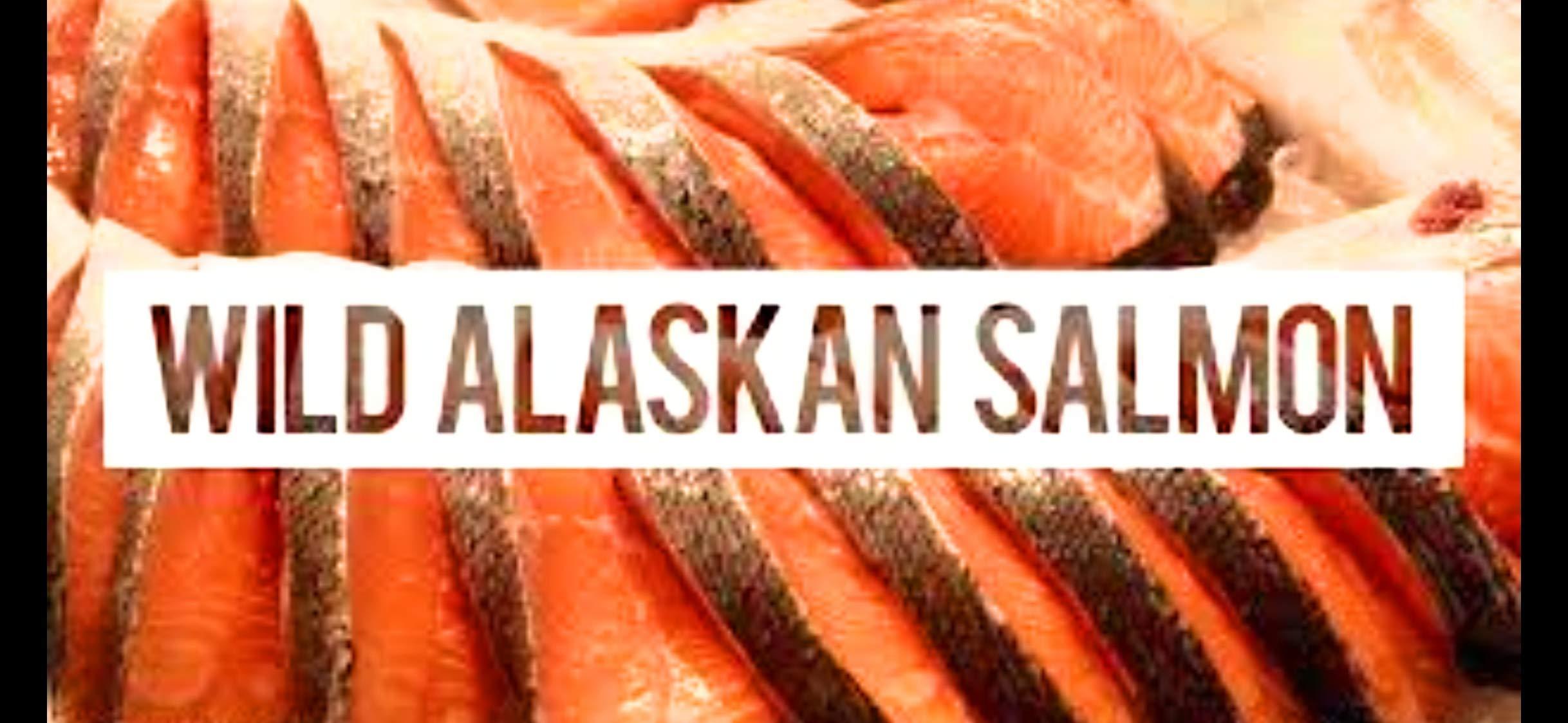 Wild Caught Alaskan Sockeye Salmon - 10-lb