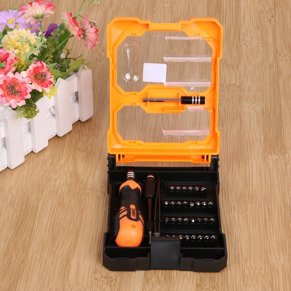 Xligo JM-8159 34 in 1 Mobile Phone Repair Tools Kit Screwdrivers Opening Tool Set DIY Digital Maintenance Box Hand Tool Set MFBS