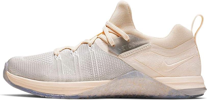Nike W Metcon Flyknit 3 MTLC, Chaussures de Fitness Femme