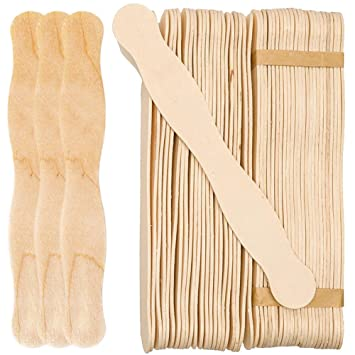 5da08a47568a4 Starter 50 piezas artesanales palos palos de helado Palitos de paleta de  madera 200   30   2 mm palos de regalo Palitos de hielo palos  Amazon.es   ...