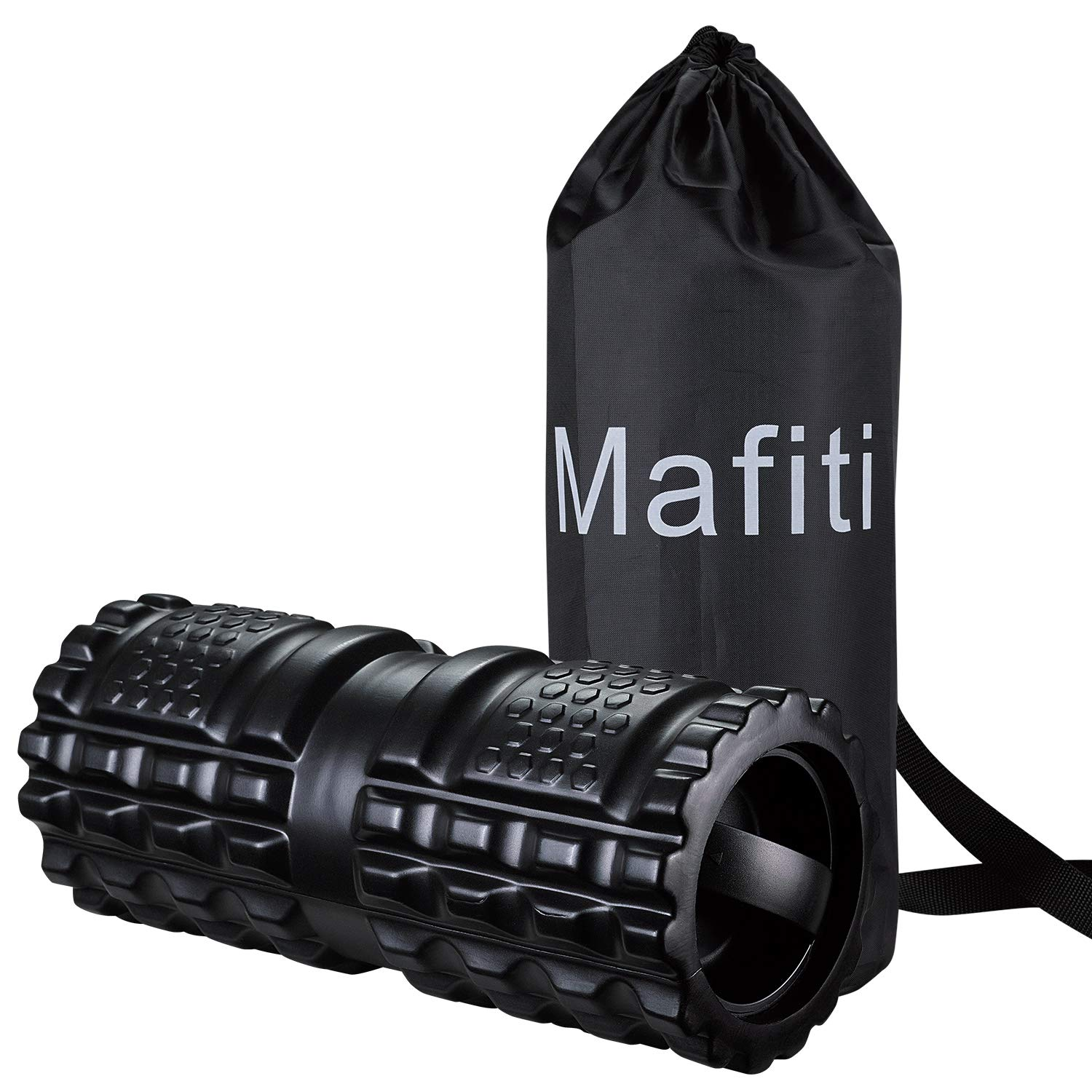 mafiti 3 Speed Vibrating Yoga Foam Roller High Density Trigger Point Electric Massager for Myofascial Recovery Sore Muscle Deep Tissue Therapy