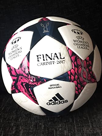 adidas Ballon de Match Football Officiel UCL Finale Cardiff 17 OMB W Blanc