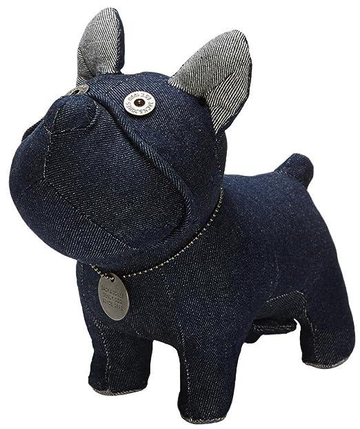 Jack & Jones Peluche chien en jean - Bleu - taille unique