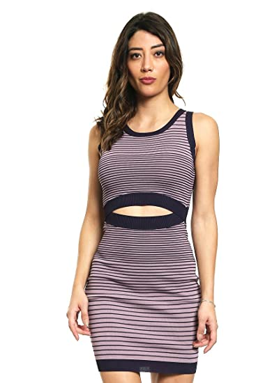 b53df9ce850 GUESS Womens Vivianne Ombre Cut-Out Sweaterdress at Amazon Women s Clothing  store