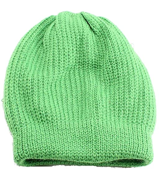 ec3bb996230 FREE PEOPLE Fine Knitted Womens One Polar Cap Beanie  28 Green One Size