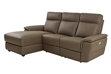 Homelegance Olympia 3 Piece Power Reclining Sectional Sofa With Left Side  Chaise U0026 USB Charging Port