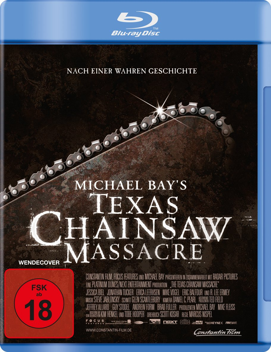 Michael Bays Texas Chainsaw Massacre Alemania Blu-ray ...
