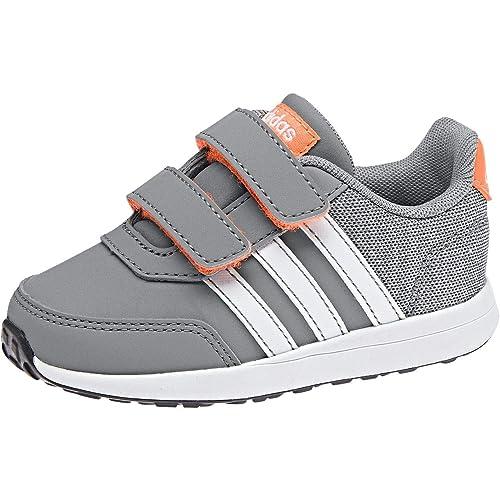 adidas Vs Switch 2 CMF, Zapatillas Unisex bebé, Gris (Grethr/Ftwwht/Hireor 000), 24 EU: Amazon.es: Zapatos y complementos