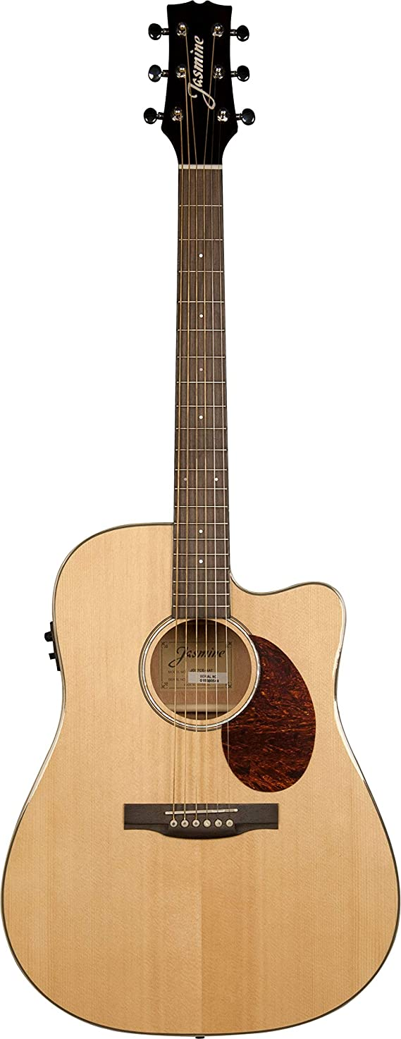 Jasmine JD37CE-NAT J-Series Acoustic-Electric Guitar