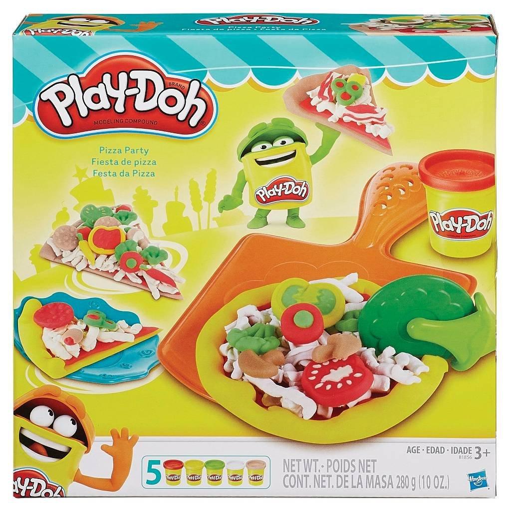 PD Play-Doh Pizza Party Play-Doh Plus Compound Bundle