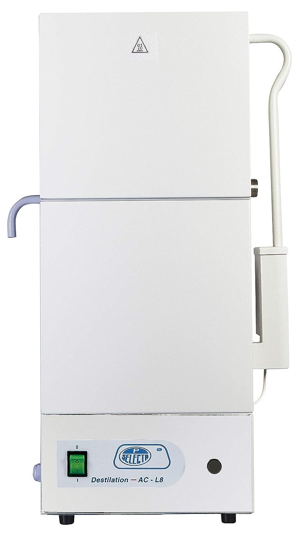 JP Selecta 4903008 Destilador de Agua Inox, Ac-L8: Amazon.es: Industria, empresas y ciencia