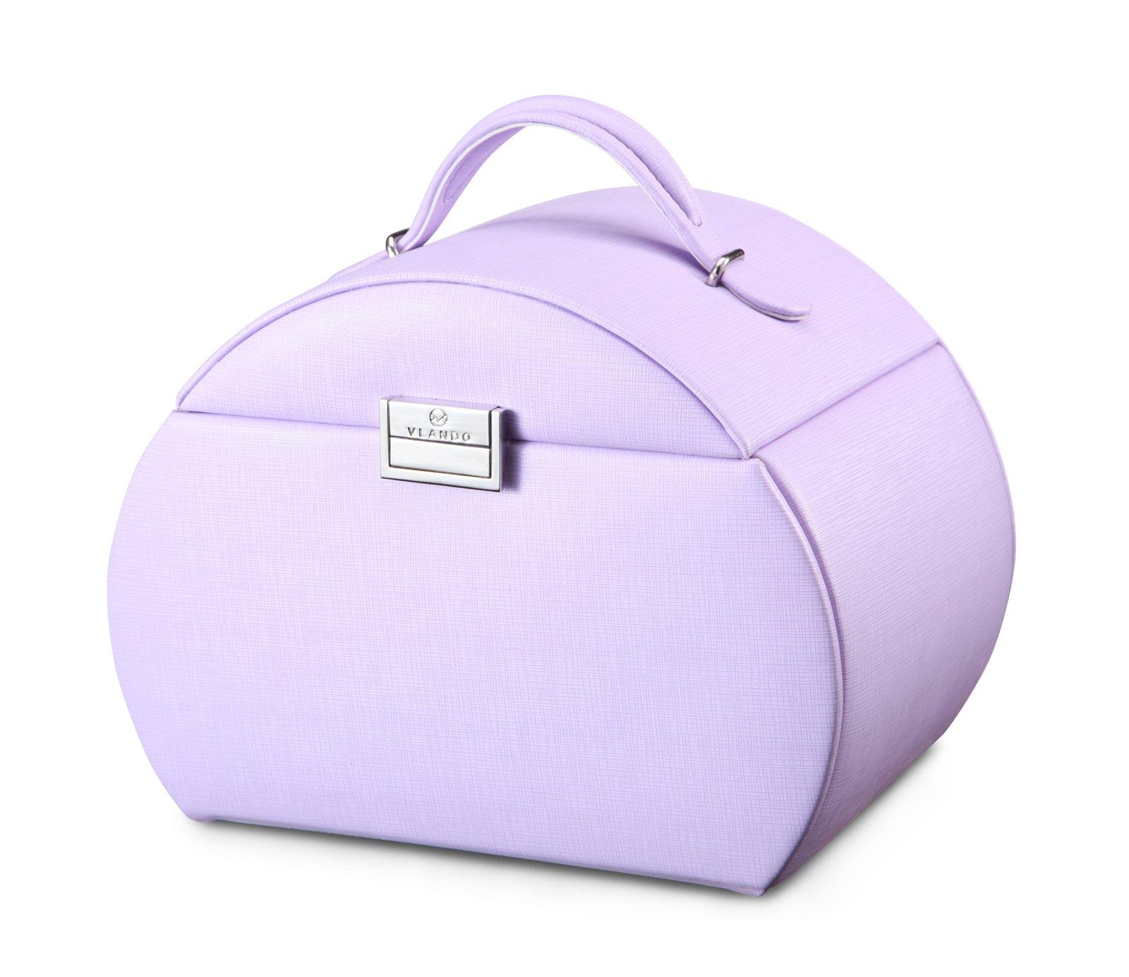 Vlando Princess Style Jewelry Box from Netherlands Design Team, Fabulous Christmas Gift for Girls (Purple) by Vlando (Image #4)