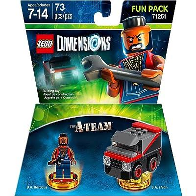 Warner Home Video - Games LEGO Dimensions, A Team Fun Pack B.A. Baracus - Not Machine Specific: Lego Dimensions: Team Fun Pack: Video Games [5Bkhe1202002]